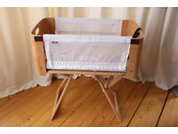Bed Nest with 2016 modification fitted. Portable Bedside cot crib with carry bag