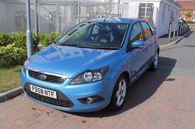Ford Focus Zetec 1.6 5dr Petrol 62,000miles 1 Previous Owner Auto