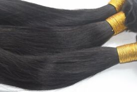 Curls'n'Kinks Luxury 100% Virgin Remy Hair Brazilian and Peruvian Hair Extensions in Straight