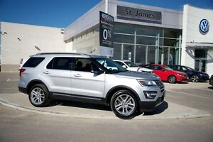 2016 Ford Explorer XLT - 4WD - 100% Accident Free!!