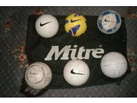 footballs/bag