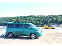 T4 CARAVELLE SURF BUS /CAMPER/7 SEATER MINIBUS/MULTIVAN long nose design 96 plate