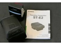 Canon Speedlite Transmitter ST-E2 and Canon RC-6 Remote Controller