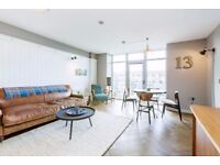 **Short Let** A stunning recently refurbished two double bedroom apartment, Townmead Road, SW6