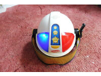 playskool dress up police helmet
