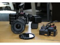 BLACKMAGIC POCKET CINEMA CAMERA (BMPCC) WITH BEST CANON LENS + METABONES ADAPTER