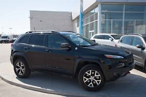 2016 Jeep Cherokee 4x4 Trailhawk - Carproof clean, one owner.