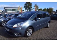2009 Citroen Grand C4 Picasso 1.6 HDi 16v Exclusive EGS 5dr/ Diesel / Auto / 7 Seats / FINANCE