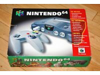 Nintendo 64 N64 boxed and complete in as new condition