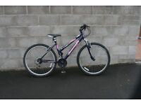 "Ladies,Mountain Bike,17.5"" Alloy Frame,26""Alloy Wheels,F/Suspension,SERVICED."