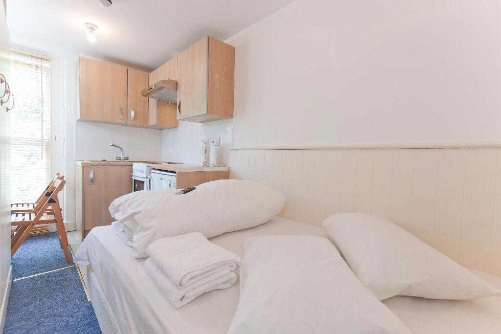 Studio Swiss Cottage Short Lets £70 per night Free WIFI