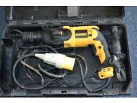 Dewalt hammer drill D25013 lx 110V - 3 functions hammer drill