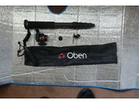 Oben CTM-2500 and The Oben VH-R2 Swivel/Tilt Monopod Head