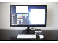 Intel NUC6i5YSK Full Set Mint condition Powerful Mini Desktop PC + LG 27 inch Full HD Monitor