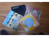 Collection of 4 Talking heads vinyl albums