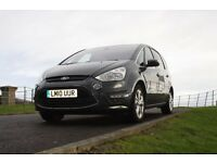 Ford S-Max 2.0 TDCi Titanium Facelift 2010 1 previous owner FSH VGC Low mileage 7 seats MPV