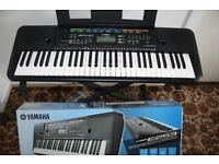 Yamaha electric keyboard PSRE253 for sale excellent condition - still in box