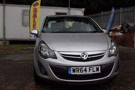 Vauxhall Corsa 1.2 Petrol 2014 silver 12 Months Warranty