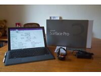 Surface Pro 3 i3 64GB Laptop with Keyboard, Charger, Box and 64GB MicroSD