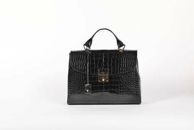 NWT $26,000 AUTHENTIC MARC JACOBS THE 1984 ALLIGATOR SATCHEL HANDBAG