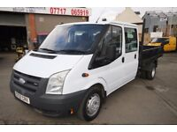 FORD TRANSIT 140 T-350L DOUBLE CAB TIPPER – 07-REG