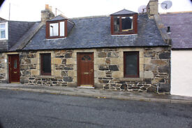 House for rent Macduff. Gas c/h. D/G. Good size enclosed garden.
