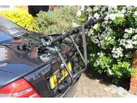 Bike rack for car boot, folds flat, as new