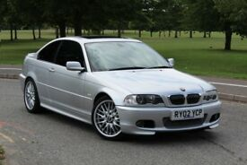 BMW 330CI M SPORT COUPE AUTOMATIC STUNNING EXAMPLE 2 OWNERS SAT NAV E46 M3 325