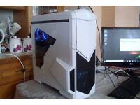 Gaming PC AMD 3.2GHz Quad Core 8GB RAM 120GB SSD R7 250 1GBGPU Win 10