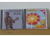 ROCK / NEW WAVE: Two WRECKLESS ERIC CDs, one in sealed wrapper. From his days with Stiff Records.