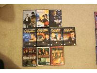 Bundle of James Bond and Pirates of Caribbean DVDs
