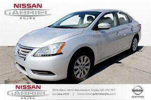 2013 Nissan Sentra 1.8 S  BAS KM, UN PROPRIO, AUTOMATIQUE, BLUET