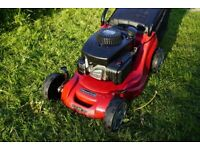 Lawn mower repair and servicing