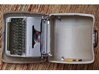 Typewriter - portable Olympia Werke AG