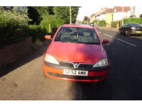 Vauxhall Corsa 2002 for sale