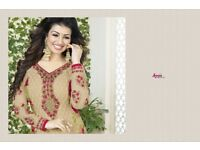AAROHI VOL 12 BY AVON GEORGETTE STRAIGHT SUITS WHOLESALE