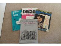 Old Piano Books