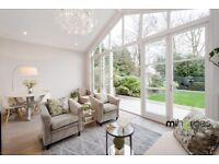 ***AN IMMACULATE 2 BEDROOM GARDEN FLAT WITH PERIOD FEATURES THROUGHOUT - BRAND NEW - A MUST SEE***