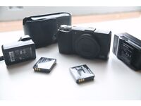 Ricoh GR 16.0MP digital camera for sale. Includes 3x batteries, case, charger and SD card