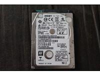 """L@@K 500GB Hitachi 2.5"""" HGST Travelstar Sata 3.0 Gbps Hard Drive HTS545050A7E380"""