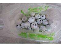 Slazenger golf balls - good quality pickups