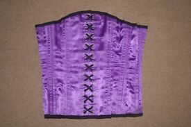 Purple Corset (looks new/hardly worn) by Tight Situation London