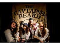 Drummer wanted for professional pirate folk band