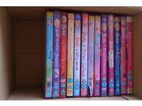 Barbie DVDs Bundle of 13 Children's DVDs Listed Below
