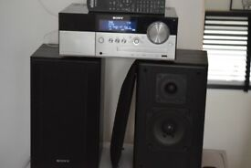 SONY DAB RADIO/CD/USB/WIFI/IPODDOCK/REMOTE/DAB ANT/CAN SEE WORKING