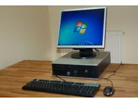 HP PC System with Monitor. Wi-Fi Internet. Intel Dual Core. Fully working & in Nice Condition.