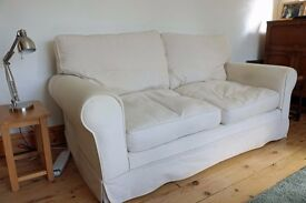 John Lewis 3 seater sofa with removable covers