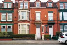 91 Sheil Rd FLA, Kensington Liverpool. 1 bed flat with DG and elect heating. DSS welcome.