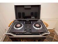 Numark NS7 DJ Controller + NS7FX Bar + Flight Case/Coffin (Serato compatible)
