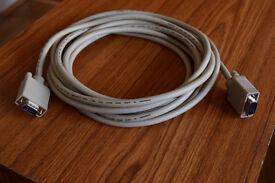 VGA Cable – 14ft - 15-pin